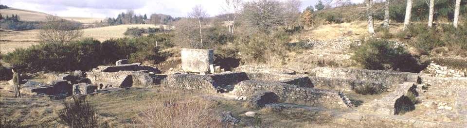 Archeologie en limousin l 39 habitat gallo romain for Habitat limousin
